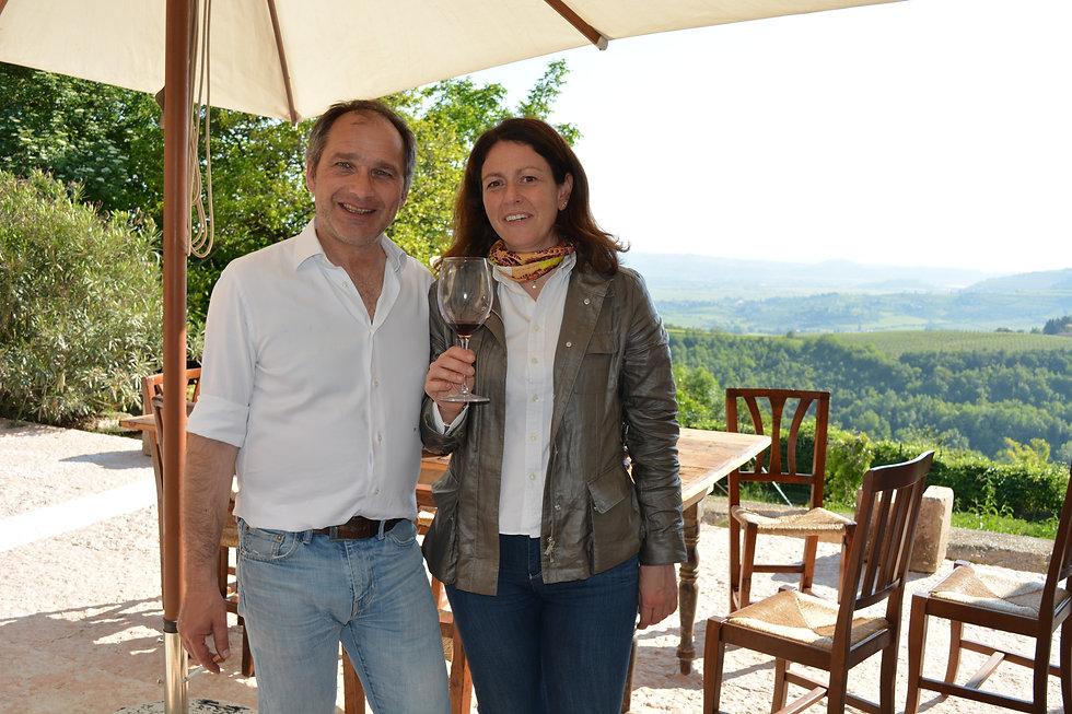 Nicola Campagnola e Ilaria Nidini