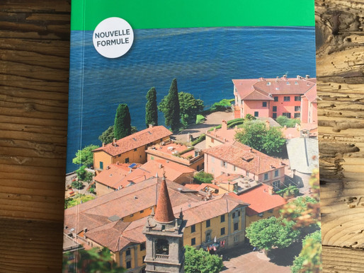 """Proud to be in Le Guide Vert Michelin """"Italie du Nord"""" 2017"""