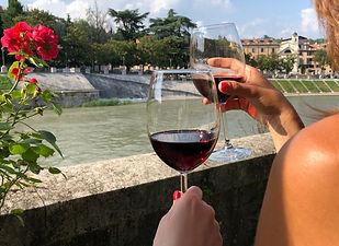 Voucher wine tasting in Verona centre