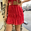 Thumbnail: Red Hots Ruffle Mini Skirt