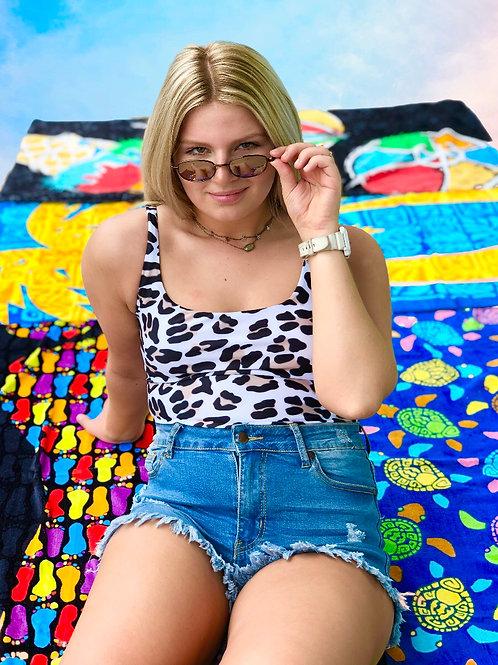 Wildin' Out One Piece Swimsuit: Leopard