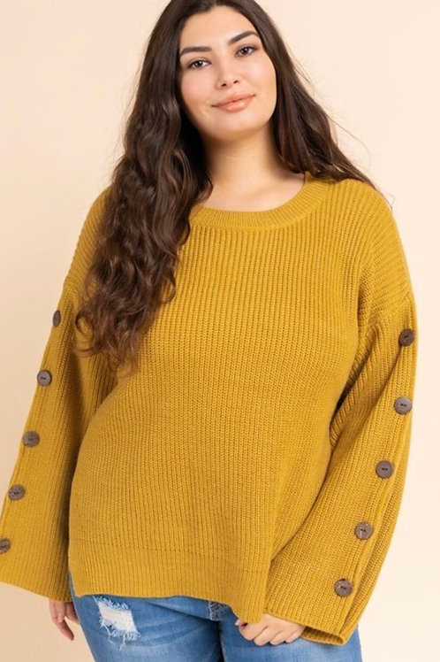 Miss Me Yet Curvy Knit Sweater