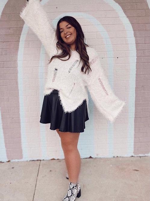 Bad Guy Leather Skirt