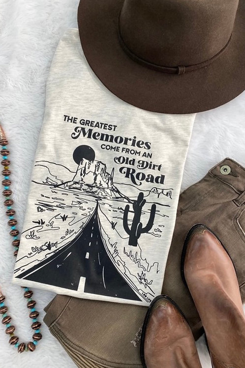 Old Dirt Road Graphic Tee