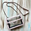 Thumbnail: Baby Pink Clear Crossbody