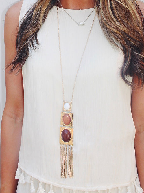 Opal Jewels Tiered Necklace