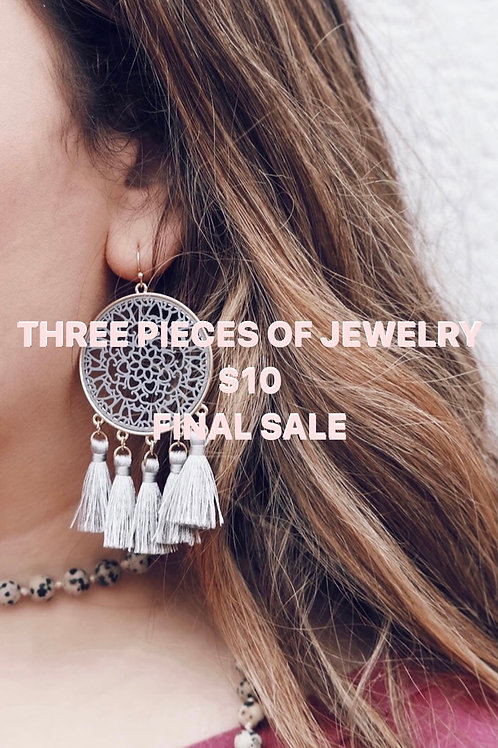 GRAB BAG (3 Pieces of Jewelry)