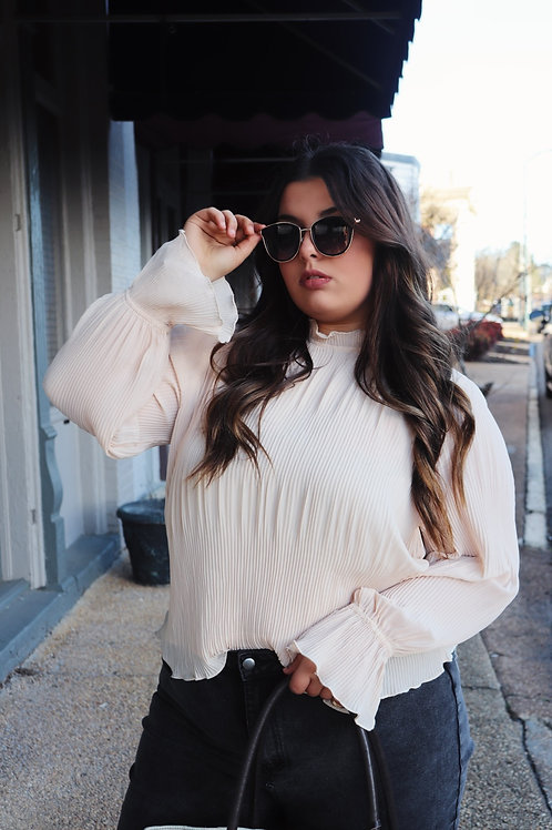 In Love by Now Blouse: Blush