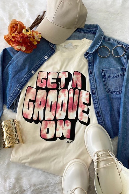 Get a Groove On Graphic Tee