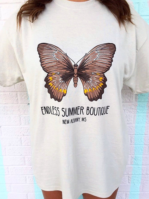 ES Butterfly Logo Tee