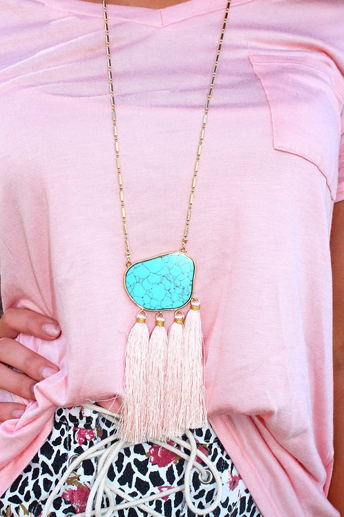 Opal Jewels Necklace: Cotton Candy Crush
