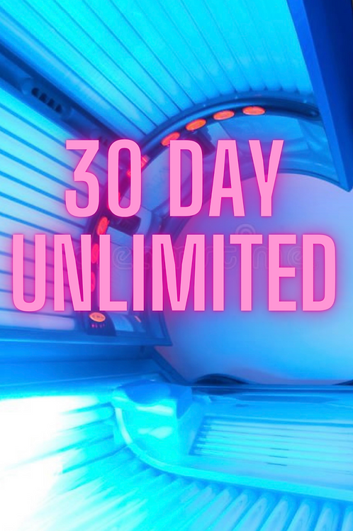 30 Day Unlimited Tanning Package