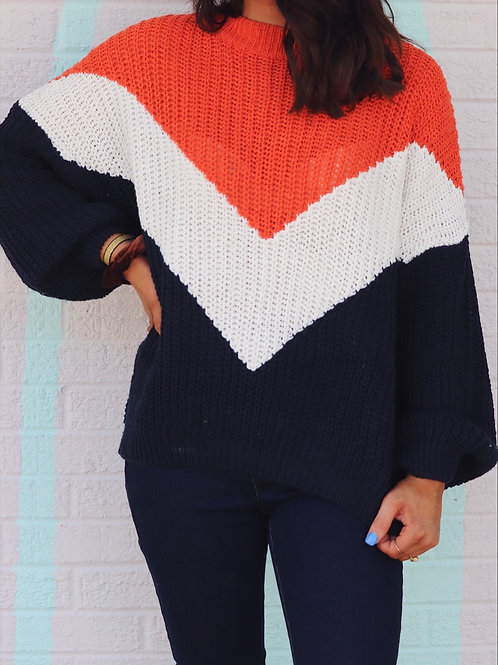 Nice with a Little Spice Knit Sweater
