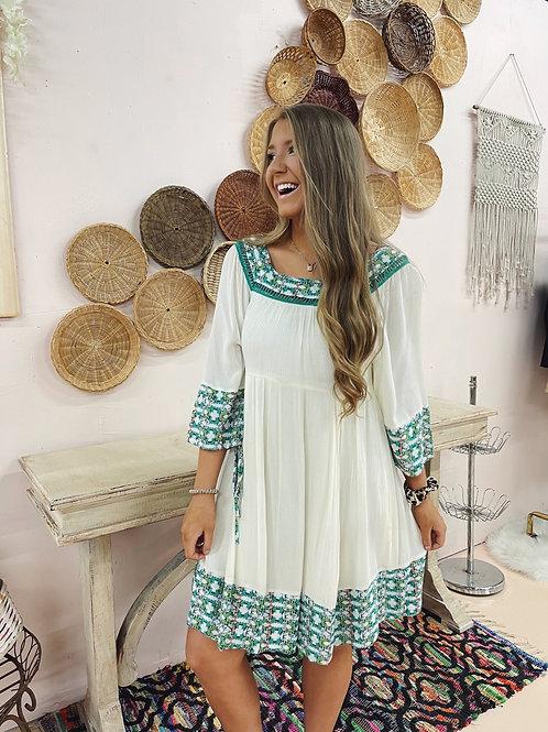 Sunday Afternoon Babydoll Dress