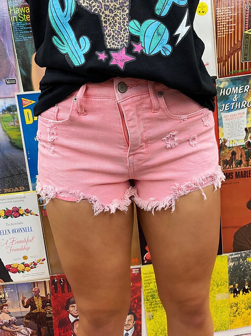Mossimo Pink Denim Shorts