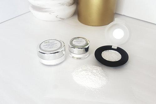 White Eyeshadow | Snowflake Shimmer | Highlight