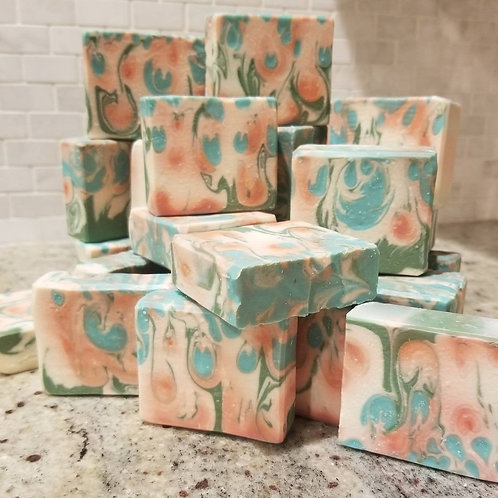 Balsamic Greens and Grapefruit Handcrafted Soap