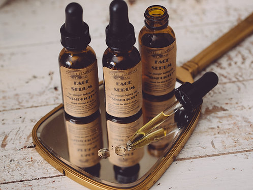 Organic Face Serum For younger looking skin