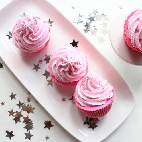 Pink Sugar Cupcake Bath Bomb