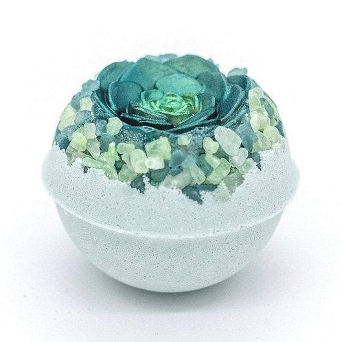 Artisan Vegan Green Succulent Bath Bomb