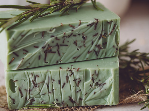 Rosemary Mint Handmade Organic Soap