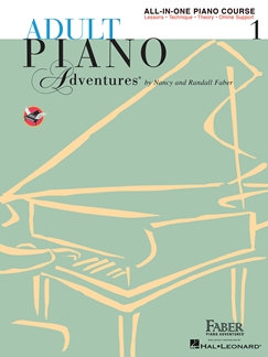 Adult Piano Adventures All-In-One Book 1 - Nancy Faber & Randall Faber