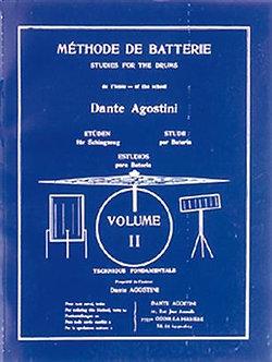 Méthode de Batterie - Volume 2 - Dante Agostini