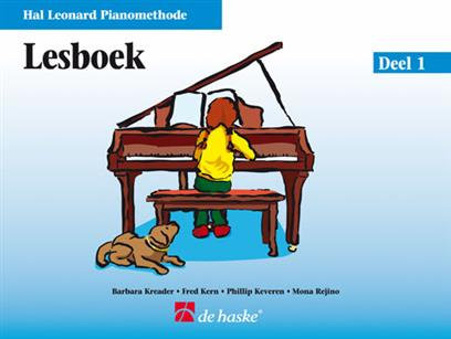 Hal Leonard Pianomethode Lesboek 1 - Phillip Keveren