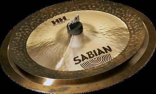 "Sabian Cymbaal HH Max Stax Low (14""cra+12""china kg)"