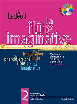 La Flöte Imaginative Volume 2 avec CD - éric Ledeuil