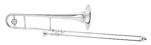 Besson Tenor Trombone New Standard Stubent - Uitvoering: Verzilverd