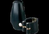 Vandoren Ligatuur + Leder Beschermkap LEER voor Tenor Saxofoon