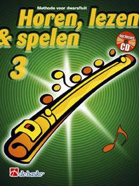 Horen Lezen & Spelen 3 dwarsfluit - Jaap Kastelein & Michiel Oldenkamp