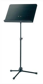 K&M 11812-000-55 Vast Blad Zwart met Zwart houten Blad