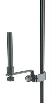 K&M 15235-000-55 Basfluithouter met Klem Zwart
