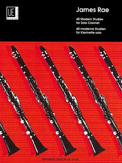 40 Modern Studies For Solo Clarinet - James Rae