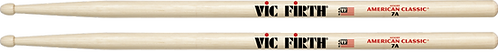 Vic Firth Drumstokken American Classic HickoryHouten Tip 7A