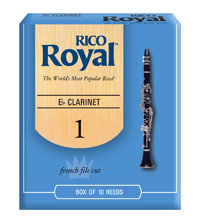 D'Addario Woodwinds Rieten Klarinet Eb ROYAL