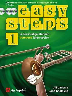 Easy Steps 1 trombone - Jaap Kastelein