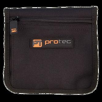 A211 ProTec Nylon Etui voor 2 Tuba Mondstukken - Zwart
