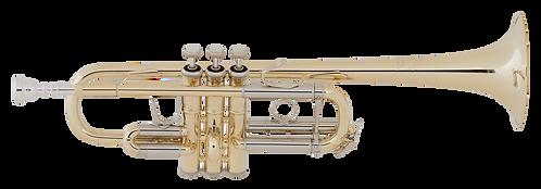 C Trompet Vincent Bach C180L239 - Uitvoering: goudlak