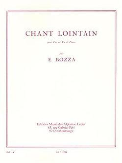 Chant Lointain - Eugène Bozza