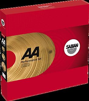 """Sabian Cymbaal AA Harmonische Pack Performance 14""""-16""""-20"""""""