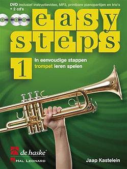 Easy Steps 1 trompet - Jaap Kastelein & Klaas de Jong