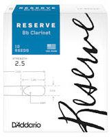 D'Addario Woodwinds Rieten Klarinet Bb/A RESERVE