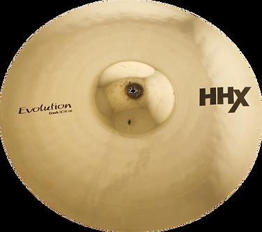 """Sabian Cymbaal HHX Crash 16"""" Evolution"""