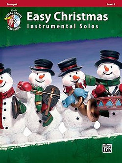 Easy Christmas Instrumental Solos, Level 1-Trumpet