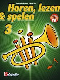 Horen Lezen & Spelen 3 trompet - Jaap Kastelein & Michiel Oldenkamp