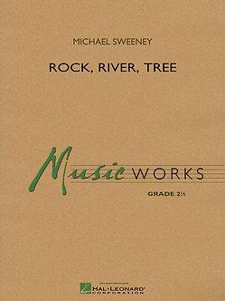 Rock, River, Tree