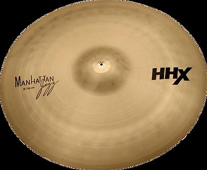 "Sabian Cymbaal HHX Crash 18"" Manhattan Jazz"